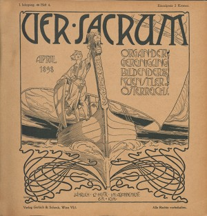 1898, Heft 4. Cover by Rotenfeld.