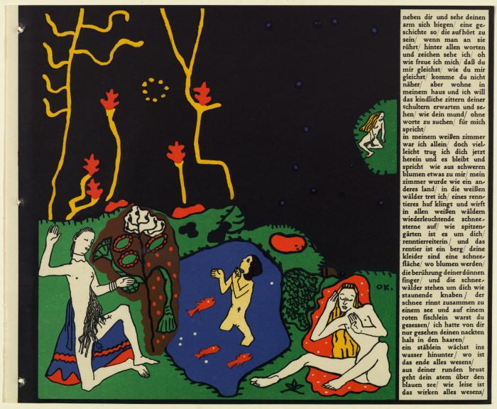 Oskar Kokoschka- Die träumenden Knaben (The Dreaming Boys)