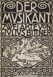 Koloman Moser -  Der Musikant -1909