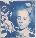 Koloman Moser - Mädchen in Rosen1 - 1898