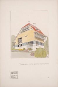 'Architektur von Olbrich' 1901