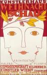 Berthold-Löffler-Künstlerhaus-Weihnacht-Schau-1930-painting-artwork-print