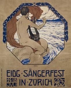 BURKHARD MANGOLD (1873-1950) EIDG SÄNGERFEST. 1905