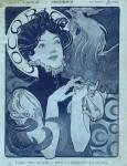 Alphonse Mucha- COCORICO 1898