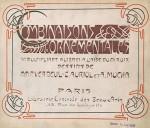 Alphonse Mucha- COMBINAISONS ORNEMENTALES 1901