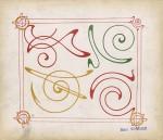 Alphonse Mucha- COMBINAISONS ORNEMENTALES 1901#2