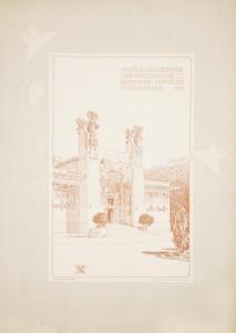 Entwurf zu einem Ausstellun 1898