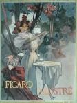 Alphonse Mucha- FIGARO ILLUSTRE 1896