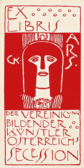 Gustav Klimt- Exlibris