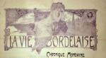 Alphonse Mucha- LA VIE BORDELAISE, CHRONIQUE MONDAINE