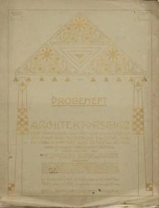 Probeheft 'Architekturschatz