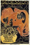 Koloman Moser - Vienna Secession, Fifth Exhibition poster
