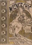 Alphonse Mucha- WIENER CHIC. 1898