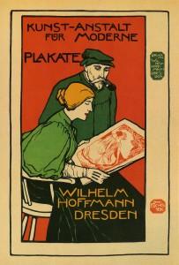 Wilhelm Hoffmann, Dresden-Printers of Modern Posters