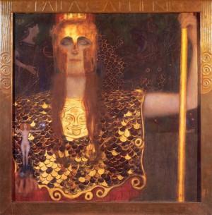 Gustav Klimt- Pallas Athena