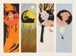 Julius Klinger- La femme dans la décoration moderne