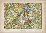 Alphonse Mucha-LANGAGE DES FLEURS 1900