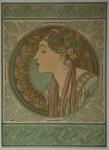 Alphonse Mucha- LAUREL & IVY 1901-1