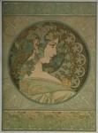Alphonse Mucha- LAUREL & IVY 1901-2