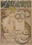 Alphonse Mucha- SALON DES CENT. 1897