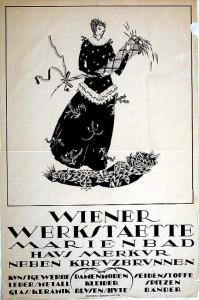 Dagobert Peche, Poster 1919