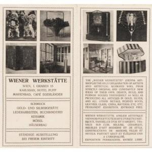 Wiener werkstätte  pamphlet