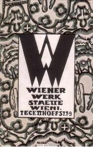 Wiener Werkstätte postcard by Leo Blonder. (front)