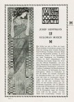 Wiener werkstätte - Deutsche Kunst und Dekoration advertising 1905.