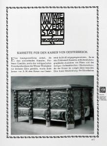 Wiener werkstätte - Deutsche Kunst und Dekoration advertising 1906.