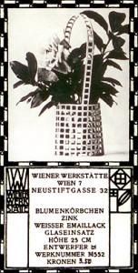 Wiener Werkstätte advertising card