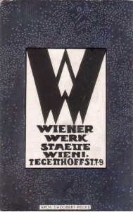 Wiener Werkstätte postcard by Dogabert Peche.