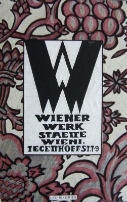 Wiener Werkstätte- leo Blonder