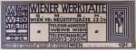 Wiener Werkstätte logo by Koloman Moser