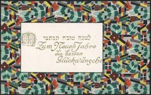 Wiener werkstätte  postcard ca. 1910 by Eduard Josef Wimmer- Wisgrill.