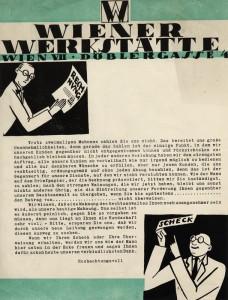 Wiener Werkstätte advertising , Wien VII, Döblergasse 4