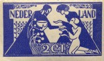 Jan Toorop Stamp Design 1923