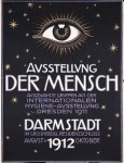 Franz Stuck-Ausstellung_Der_Mensch_exhibition_poster,_color_lithograph,_1912,_Daulton_Collection