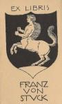 Franz Stuck-Ex_Libris_Franz_von_Stuck,_version_1,_Daulton_Collection