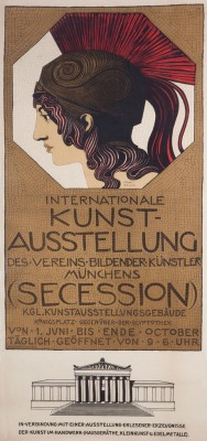 Franz Stuck-Secession poster 1893