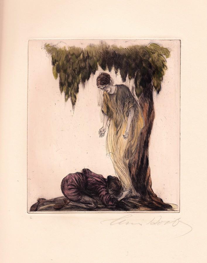 Etching, Alois Kolb, Vienna Secession, Art Nouveau, Koloman Moser, Kolo, Jugendstil, Graphic Design, Austrian, Gustav Klimt