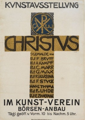 Franz Stuck-Christus