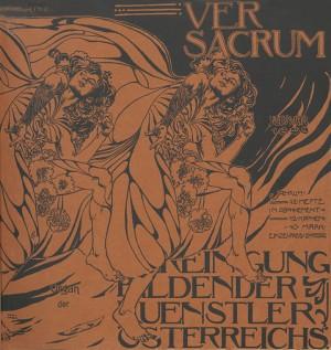 1898- Heft 2. Cover by Koloman Moser
