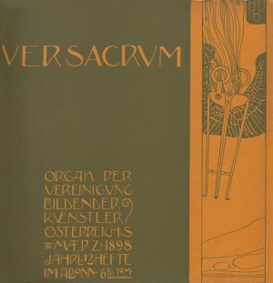 1898, Cover by Gustav Klimt