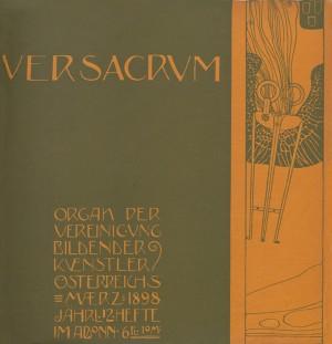 1898, Heft 3. Cover by Gustav Klimt