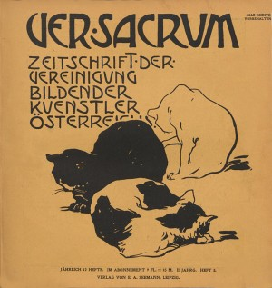 1899- heft 3. Cover by Emil Orlik(?)
