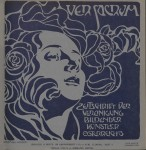 1899- Heft 4. Cover by Koloman Moser