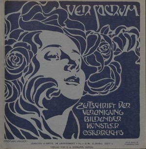 1899 Cover by Koloman Moser