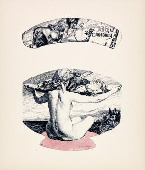 Carl Otto Czeschka- Die Quelle