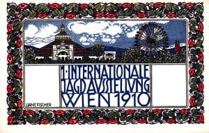 JAGD-AUSSTELUNG 1910