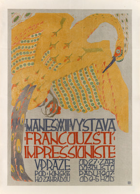 FRANTIŠEK KYSELA (1881-1941) FRANCOUZŠTÍ IMPRESSIONISTE. 1907.